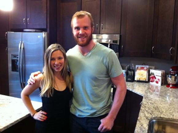 Bryan Bickell & Fiancee Amanda